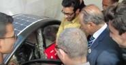 طلبة مغاربة يخترعون سيارة كهربائية 100 % مغربية .