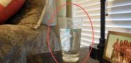 لا تشربوا أبداً من كوب الماء الموجود بجانب سريركم , اكتشفوا السبب