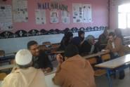 لقاء تواصلي مع آباء وأولياء التلاميذ في رحاب ثانوية عبد الكريم الخطابي التأهيلية