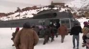 فيديو : ورززات عملية اجلاء لشخصين بواسطة المروحية
