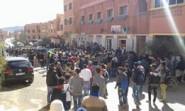 تنغير : أقوى لحظات المسيرة الإحتجاجية لساكنة منطقة ألنيف