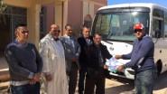تنغير : الثانوية الإعدادية ابن خلدون تتسلم هبة لنقل التلاميذ بأمصيسي بعد الفاجعة الؤلمة