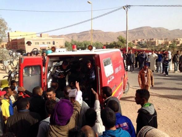 فرعا الجمعية المغربية لحقوق الإنسان بتنغير والراشيدية يحملان الدولة مسؤولية الحادث المؤلم الذي راح ضحيته أطفال أبرياء