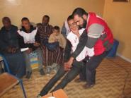 دورة تكوينية في الاسعافات الأولية من تنظيم المكتب المحلي للهلال الأحمر بومالن-دادس