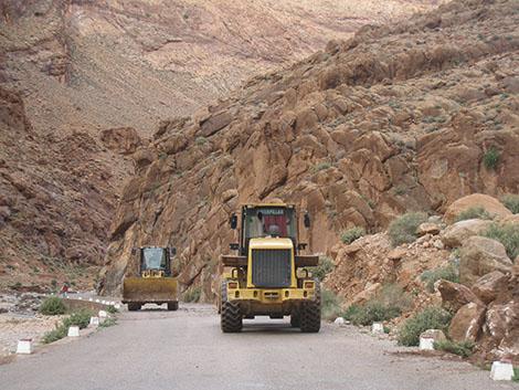 2.8 مليار درهم المبلغ المخصص للمخطط الاقليمي لبناء الطرق باقليم تنغير