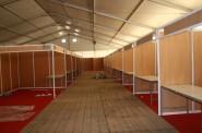 مهرجان الورود : أشغال تجهيز المعرض تشرف على الإنتهاء