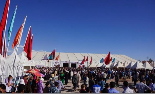 قلعة مكونة : النسخة 54 من مهرجان الورود انطلاق التسجيل بالمعرض
