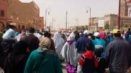 تنغير:جانب من المسيرة المنظمة من طرف جمعية التازر لمرضى داء السكري