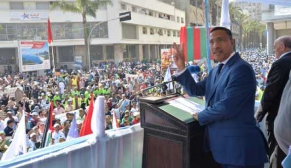 مخاريق: الحكومة أفسدت علينا جميعا احتفالات فاتح ماي
