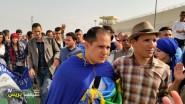 عاجل ….كلمة المعتقل مصطفى اوسايا لحظة خروجه من السجن