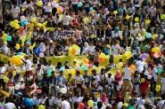شباب يستعدون لرسم مسيرة الابتسامة على ساكنة أكاديريوم غد الأحد