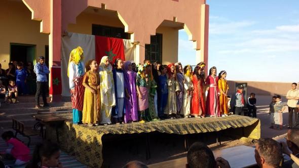 مدرسة بومالن تقيم حفلا تربويا.