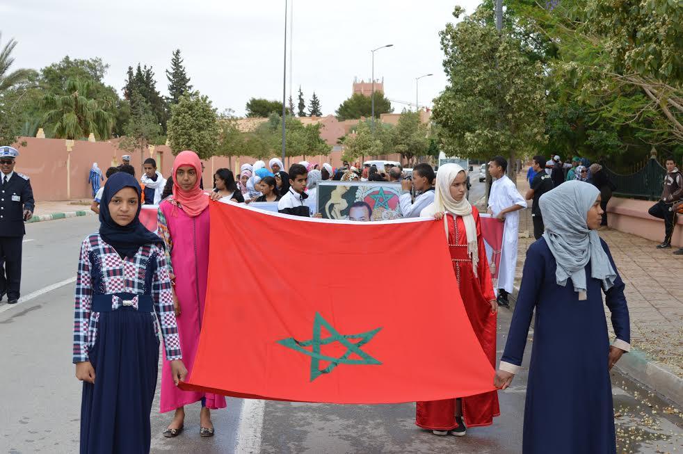 افتتاح فعاليات المهرجان الاقليمي الأول للمسرح التربوي بمديرية الرشيدية.