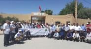 وقفة احتجاجية لمديرات ومديري الثانويات العمومية  بجهة درعة تافيلالت