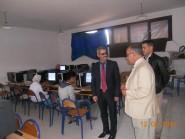 تنغير : المدير الإقليمي في زيارة لمركز إجراء البرنامج الوطني لتقويم التعلمات