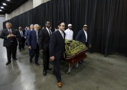 """صلاة الجنازة على جثمان """"محمد علي كلاي"""" بحضور أردوغان (صور مؤثرة)"""