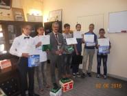 مديرية تنغير : المدير الإقليمي يستقبل التلاميذ الفائزين بالرتبة الثالثة في المسابقة الوطنية للربوتيات التربوية