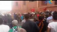 """فضيحة // تنغير : ساكنة تامستوشت تقمع من قبل قوات """"السيمي"""" في مظاهرة سلمية للمطالبة بالماء الصالح للشرب"""
