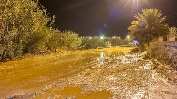 تنغير : حصيلة التساقطات المطرية والمجهودات مستمرة من قبل السلطات الإقليمية لفتح الطريق على مستوى واد ارك