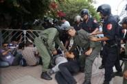 المكفوفون يتعرضون للضرب أمام بيت بنكيران