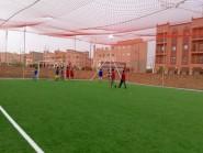 تنغير : افتتاح ملعب معشوشب لكرة القدم المصغرة