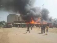 بعد حريق مرجان سوق الجملة بمكناس يشهد حريقا مهولا