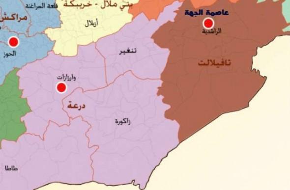 فعاليات مدنية بجهة درعة تافيلالت تدعو لوقفة احتجاجية للمطالبة برحيل الشوباني