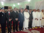 بالصور.. عبد الحكيم النجار يترأس مراسيم تحية العلم الوطني بمناسبة عيد الشباب المجيد