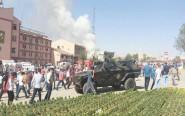 3 قتلى وأزيد من 50 جريح في انفجار سيارة ملغومة بتركيا..