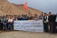 تنغير : مرة أخرى ساكنة تمتتوشت تواصل نضالها بمسيرة حاشدة للمطالبة بالتزود بالماء الصالح للشرب + صور
