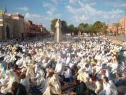 بالصور …. أجواء صلاة عيد الأضحى المبارك بتنغير