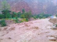 فيضانات تنغير تعزل مجموعة من الدواوير بالإقليم عن العالم الخارجي ليوم كامل