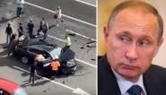 """بالفيديو: """"نجاة"""" الرئيس الروسي بوتين من الموت بعد تعرُّض سيارته لحادث ومقتل قائدها!"""