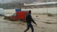 فيضانات مولاي ادريس زرهون تودي بحياة طفل صغير
