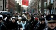 الجالية المغربية تستنكر مقتل بائع السمك محسن فكري بمدينة الحسيمة