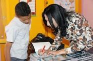 مهرجان تموايت : لقاءات أدبية مفتوحة بالثانويات التأهيلية بورزازات