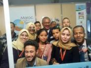 زيارة السفير الامريكي لشباب درعة تافيلالت في قلب الحدث COP22 بمراكش
