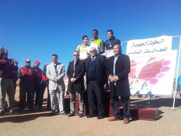 الفرع الإقليمي للرياضة المدرسية بتنغير ينظم البطولة الجهوية للعدو الريفي المدرسي