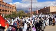 من الأرشيف: مسيرة المرأة التنغيرية للمطالبة بمستشفى يليق بساكنة الإقليم