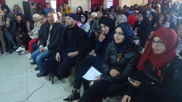 ثانوية سيدي محمد بن عبد الله التأهيلية بتنغير تخلد اليوم العالمي لمحاربة السيدا