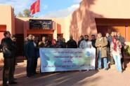 سابقة …. منع ندوة جهوية للجمعية المغربية لحقوق الإنسان بتنغير + فيديو