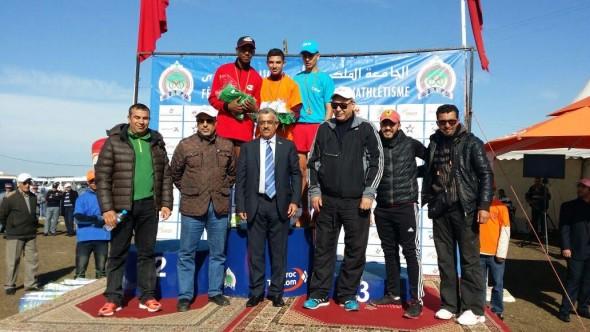 جمعية ايت ايحيا لألعاب القوى تحصد المرتبة الأولى ذكور و اناث بالمحمدية
