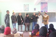 تنغير : قافلة النور في زيارة لمراكز محو الامية بجماعة اكنيون