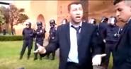 سابقة ….رجال أمن بالمغرب يحتجون في الشارع العام بعد إلغاء توظيفهم