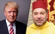 هذه هي فحوى المكالمة الهاتفية بين الملك محمد السادس و الرئيس الأمريكي
