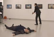 بالفيديو.. شاهد لحظة اغتيال السفير الروسي في أنقرة