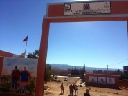 قلعة أمكونة: جداريات تمنح مدرسة أم عياش المركزية حلة فريدة