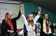 تتويج حنان أوبلا ملكة جمال الأمازيغ لعام 2017 بمدينة أكادير