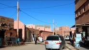 تنغير : مياه الواد الحار تجوب أحد الأحياء السكنية بمركز المدينةو المسؤولون في واد آخر + صور