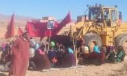 السلطات تهدم أسوار بقع أرضية بقلعة مكونة والسكان يعتصمون